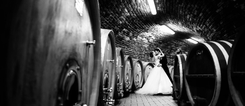svatební fotograf Morava vinný sklep