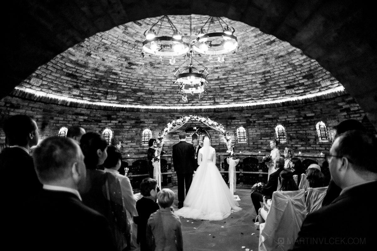 Vinařství u Kapličky v Zaječí, svatba v Rotundě