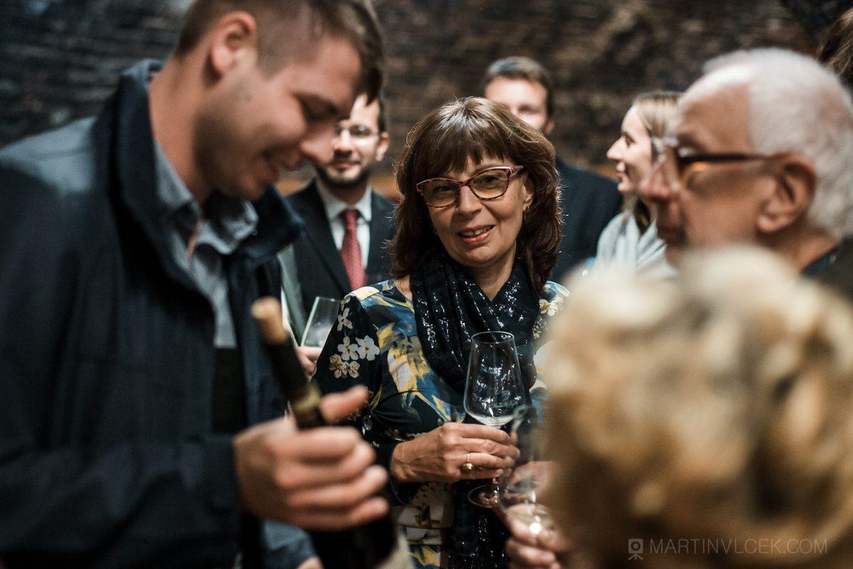 Vinařství u Kapličky degustace vína
